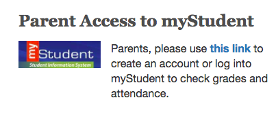 Parent Portal Accounts